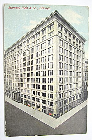 Marshall Field & Company Postcard (Chicago) (Image1)
