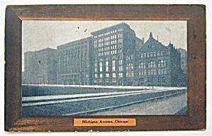Michigan Avenue, Chicago Postcard (Image1)
