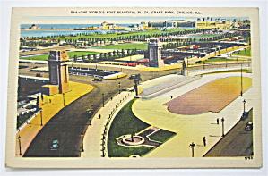Grant Park, Chicago Postcard (Image1)