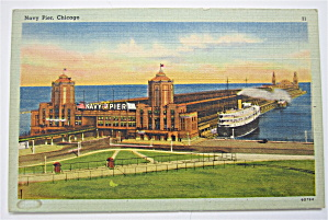 Navy Pier Postcard (Chicago) (Image1)