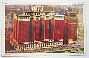 Stevens Hotel, Chicago Postcard (Image1)