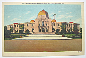 Administration Building Postcard (Chicago) (Image1)