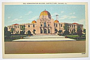 Administration Building Postcard (Chicago) (Image1)