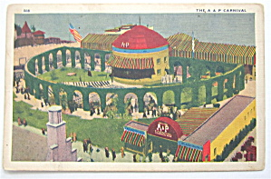 1933 Century Of Progress, A & P Carnival Postcard (Image1)