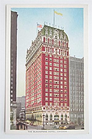 Blackstone Hotel, Chicago Postcard (Image1)