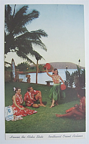Hawaii, The Aloha State Postcard (Image1)