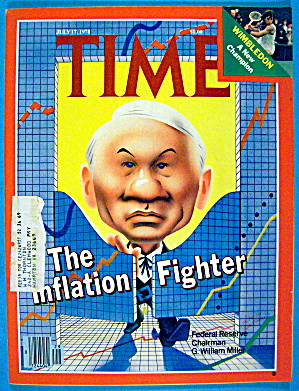Time Magazine-july 17, 1978-the Inflation Fighter