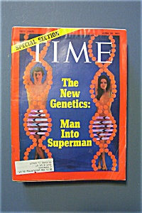 Time Magazine - April 19, 1971 - The New Genetics