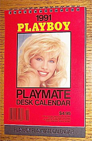 Playboy Playmate Desk Calendar (1991) Pamela Anderson (Image1)