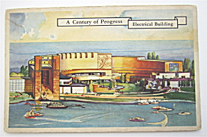 Electrical Building Postcard (1933 Century Of Progress) (Image1)