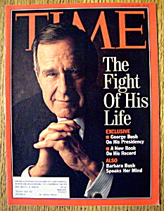 Time Magazine-august 24, 1992-george Bush
