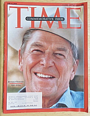Time Magazine-june 14, 2004-ronald Reagan (1911-2004)