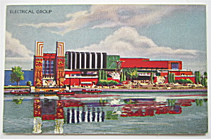Electrical Group, Chicago's 1933 Expo Postcard (Image1)