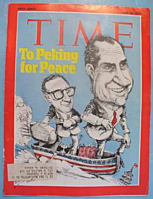 Time Magazine - July 26, 1971 Peking For Peace