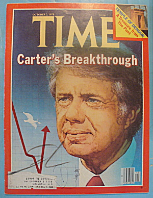 Time Magazine - October 2, 1978 Carter Breakthrough