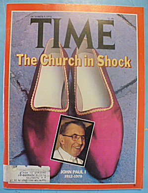 Time Magazine - October 9, 1978 Church In Shock