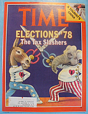 Time Magazine - October 23, 1978 Tax Slashers