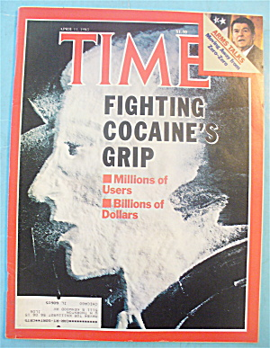 Time Magazine - April 11, 1983 Cocaine's Grip