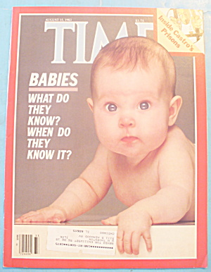 Time Magazine - August 15, 1983 Babies
