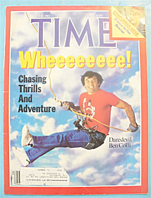 Time Magazine - August 29, 1983 Ben Colli