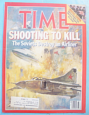 Time Magazine - September 12, 1983 Soviets Destroy