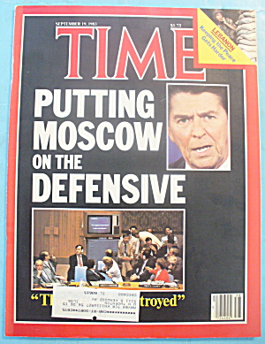 Time Magazine - September 19, 1983 Moscow On Defense (Image1)