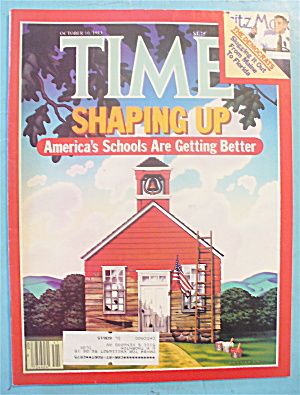 Time Magazine - October 10, 1983 America's Schools