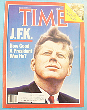 Time Magazine - November 14, 1983 John F. Kennedy