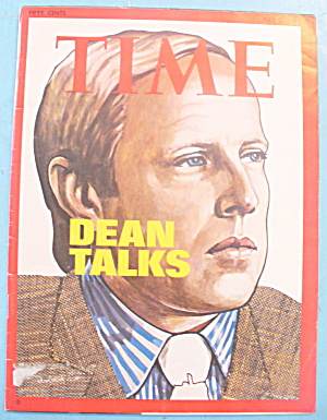 Time Magazine - July 2, 1973 Dean Talk