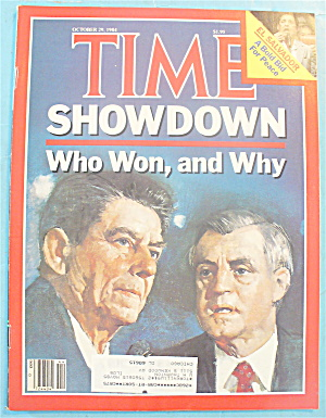 Time Magazine - October 29, 1984 Showdown
