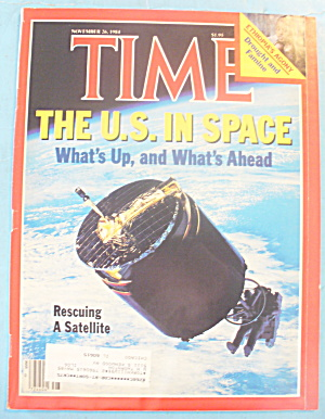 Time Magazine - November 26, 1984 U.s. In Space