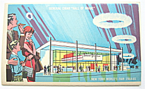 General Cigar Hall Of Magic 1965 New York Fair Postcard (Image1)