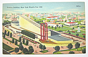 Textiles Building At The New York World's Fair 1939