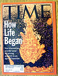 Time Magazine-october 11, 1993-how Life Began