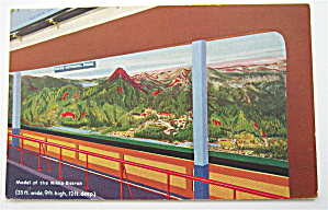 Model Of The Nikko District, 1933 Chicago Expo Postcard (Image1)