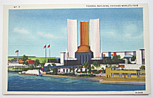 Federal Building, Chicago World's Fair Postcard (Image1)