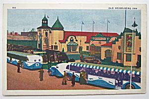Old Heidelberg Inn, Chicago World's Fair Postcard (Image1)