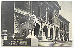Art Institute, Chicago World's Fair Postcard (Image1)