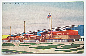 Agricultural Building, Century Of Progress Postcard (Image1)