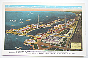 International Exposition, Chicago 1933 Postcard (Image1)