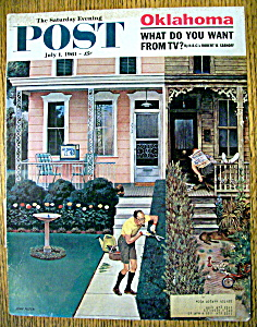 Saturday Evening Post Cover-falter-july 1, 1961