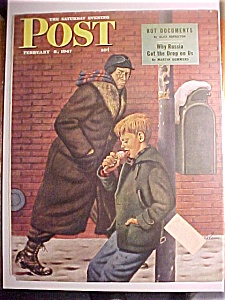 Saturday Evening Post Cover -Dohanos- February 8, 1947 (Image1)