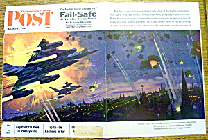 Saturday Evening Post Cover By Mc Call-october 13, 1962