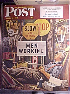 Saturday Evening Post Cover -dohanos- April 12, 1947