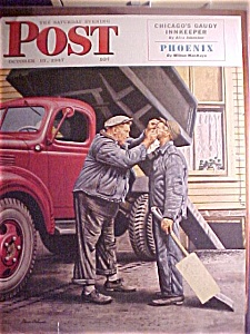 Saturday Evening Post Cover By Dohanos October 18, 1947