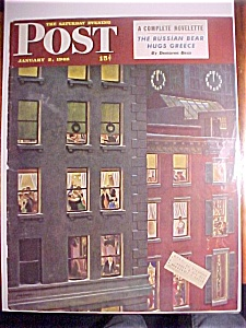 Saturday Evening Post Cover - Falter - January 3, 1948