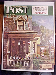 Saturday Evening Post Cover-may 8, 1948-john Falter