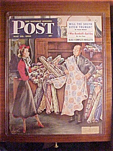 Saturday Evening Post Cover By Constantine-may 22, 1948
