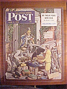 Saturday Evening Post Cover -dohanos- June 5, 1948