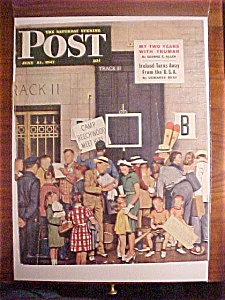 Saturday Evening Post Cover -dohanos- June 21, 1947